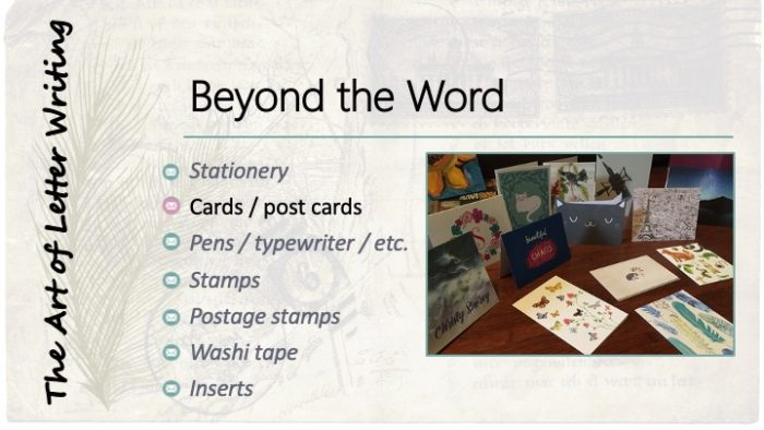 Beyond the Word: Cards / post cards