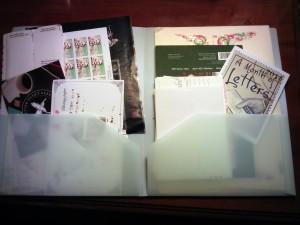 travel correspondence kit