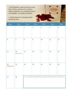 LetterMo 2017 planning calendar