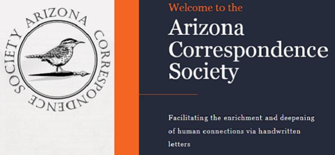 Insider's look into the Arizona Correspondence Society